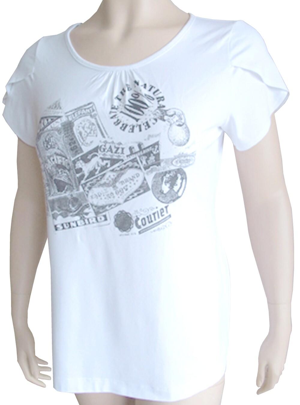 Designer-Longsleeve-Shirt-neu-MAXIMA-Gr-46-Weiss